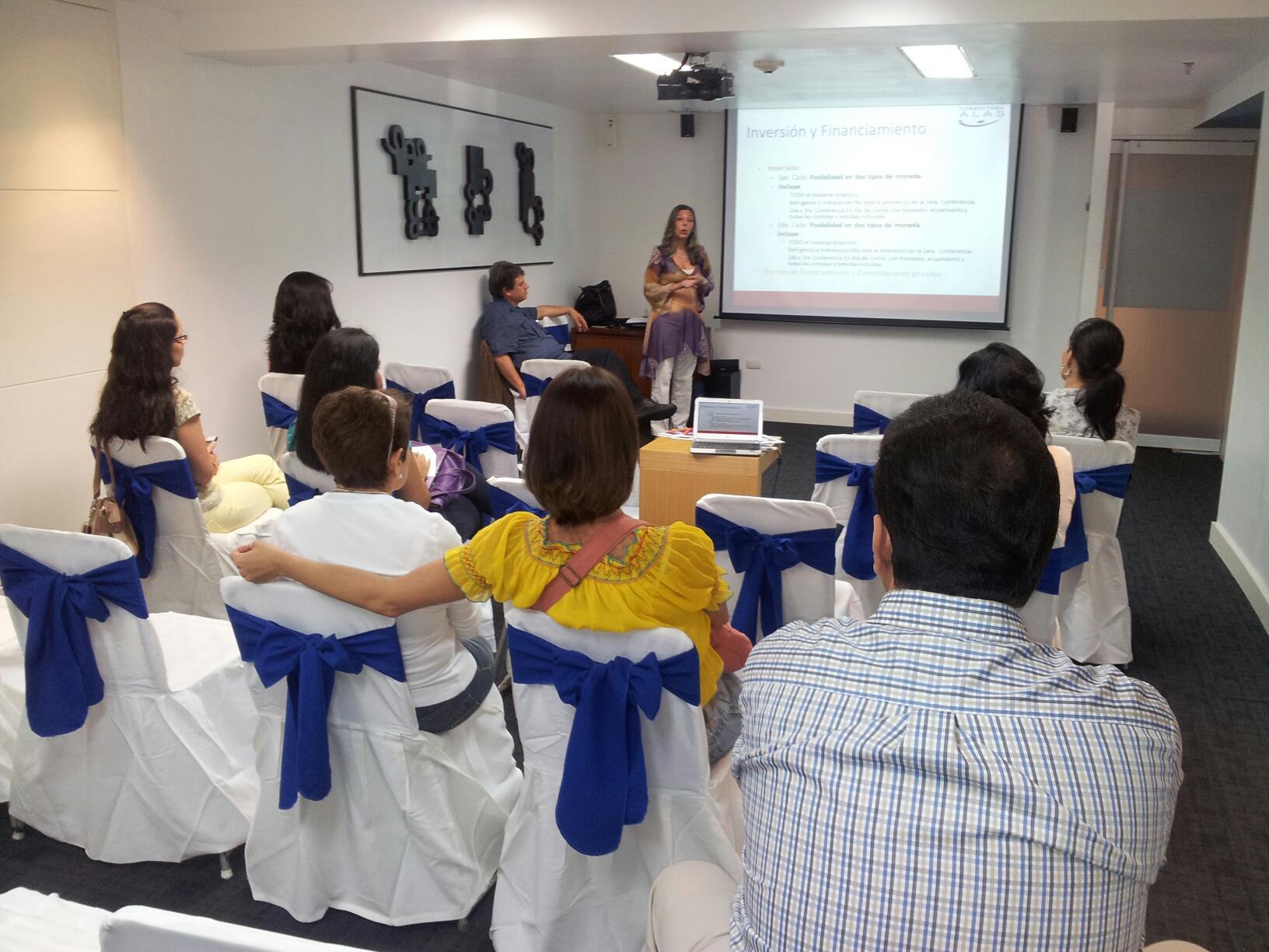 Se realizó charla informativa sobre PRACTyCO 2012