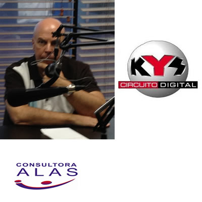 Jesús Rivero Bertorelli entrevistó a Daniel Elfenbaum en Kys FM