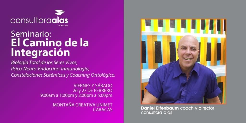 Seminario: El camino de la integración con Daniel Elfenbaum